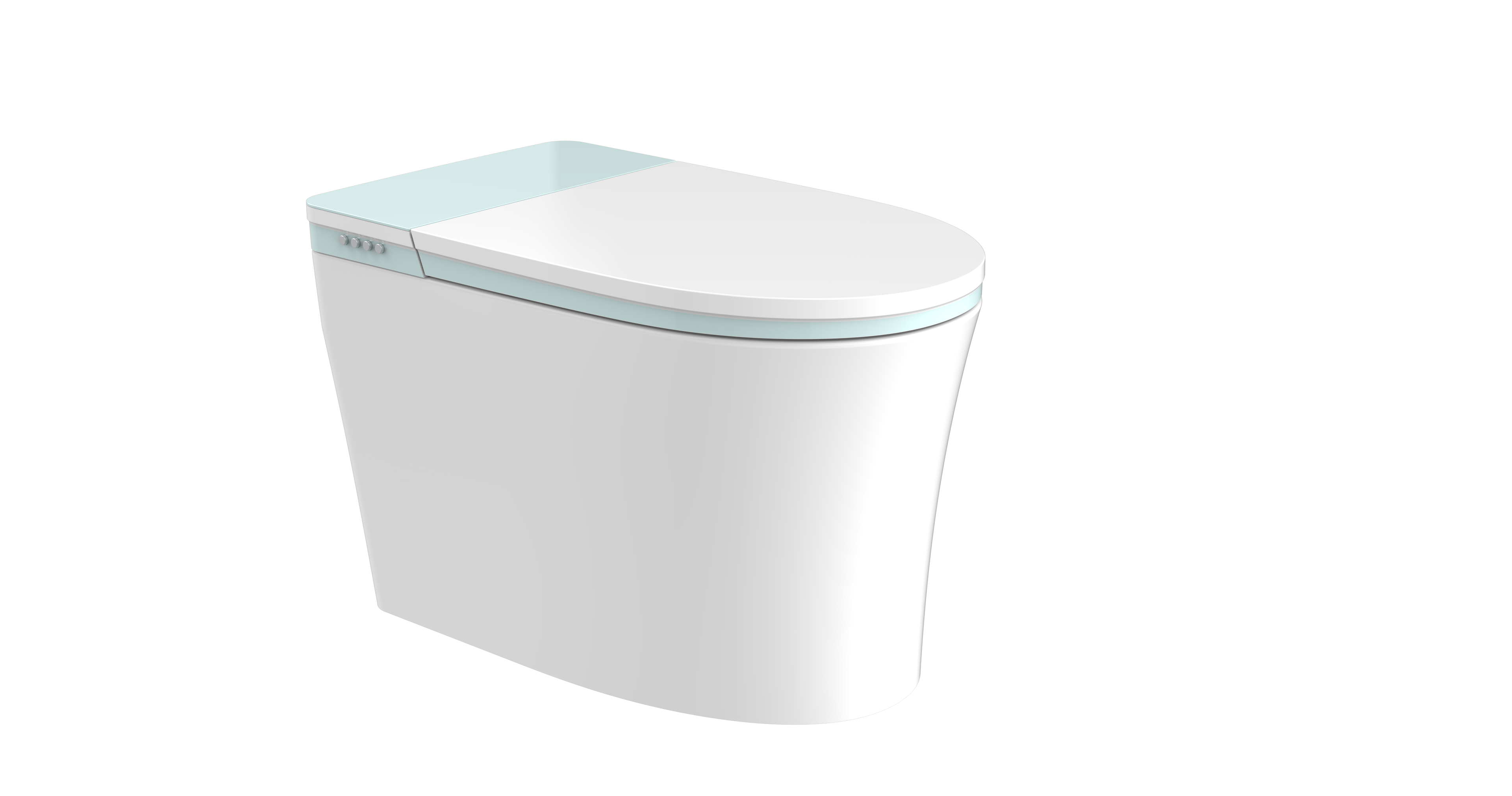 JT Accord 9011 bidet toilet with green cover