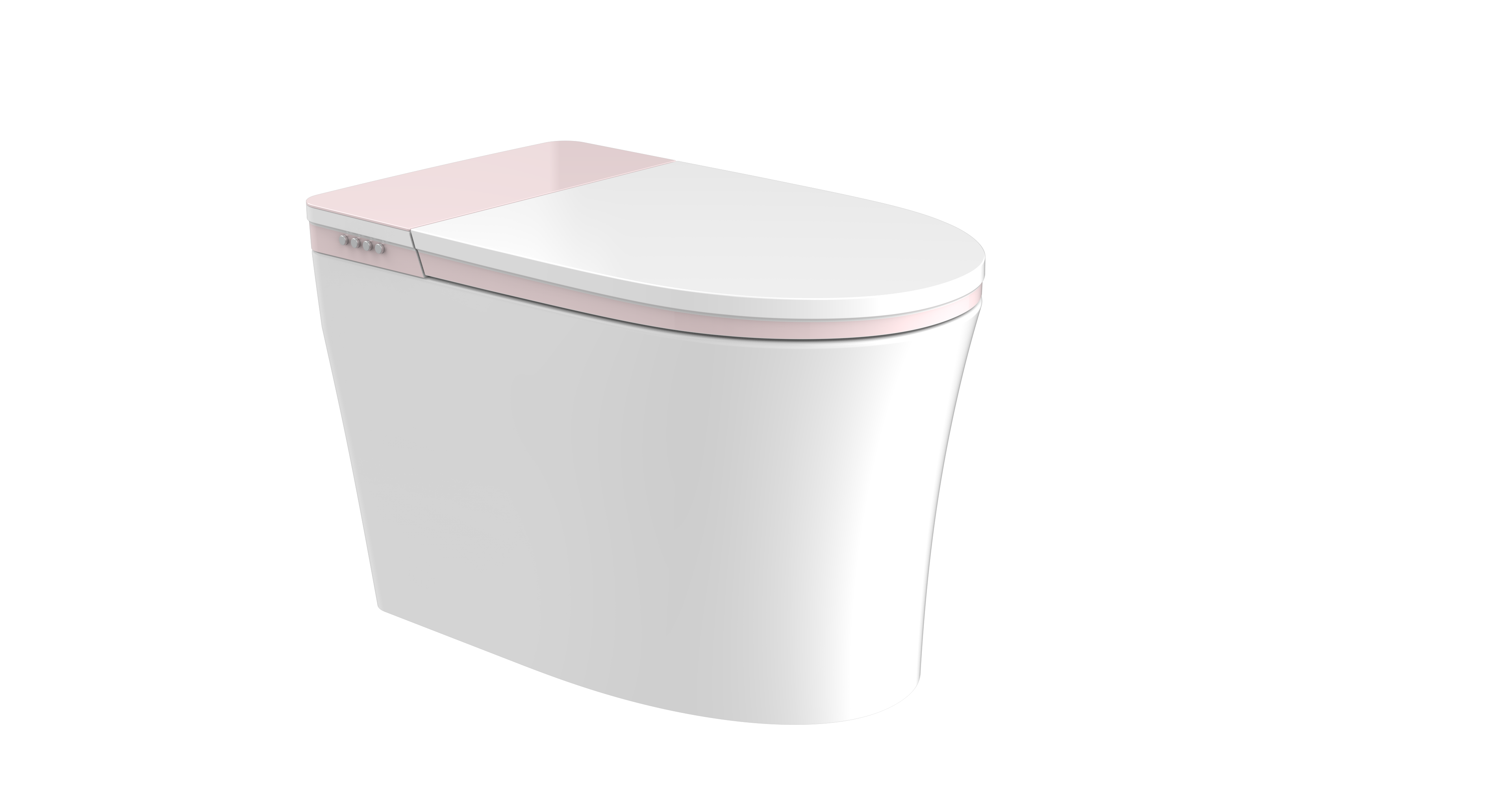 JT Accord 9011 bidet toilet with pink cover
